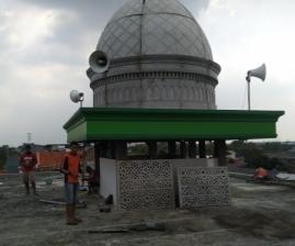 Kubah Masjid Poris